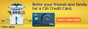 Refer Your Friends And Family For A Citi Credit Card.